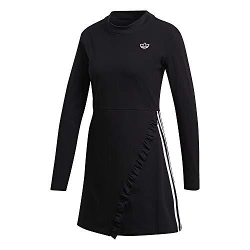 adidas Vestido Pleat Negro para Mujer 36