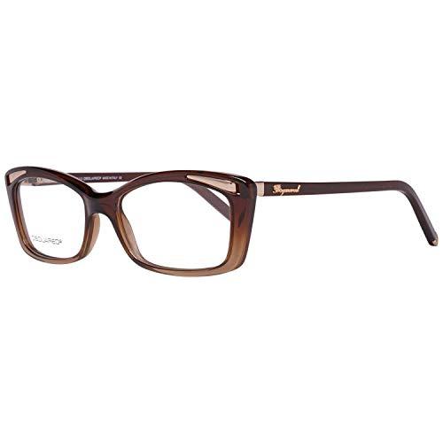 DSQUARED2 D Squared Montatura DQ5109-050-54 (54 mm) Marrone/Nero