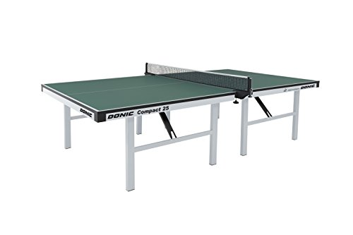 DONIC Compact 25 Tischtennisplatte, Silbergrau-Grün, One Size