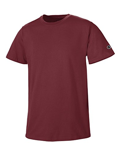 Champion 6.1 oz. Short-Sleeve T-Shirt, Small, Maroon