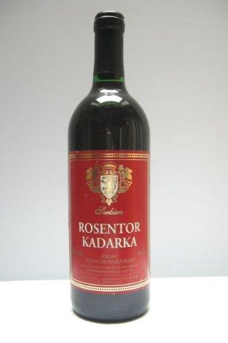 Rosentor Kadarka Rotwein lieblich aus Serbien
