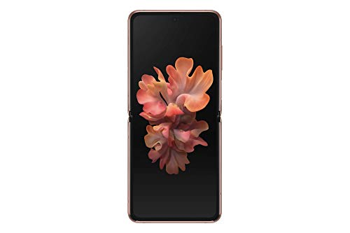 Samsung Galaxy Z Flip 5G Factory Unlocked New Android Cell Phone | US Version Smartphone | 256GB Storage | Folding Glass Technology| Long-Lasting Mobile Battery | Mystic Bronze (Renewed)