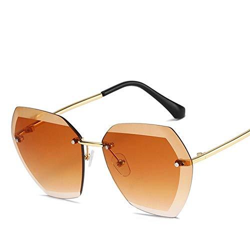 Gafas de sol sin montura para niños con ojo de gato lindas gafas para bebé de lujo de moda de diseño vintage
