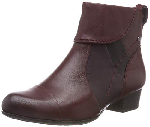 Be Natural Damen 25315-21 Stiefeletten, Rot (Bordeaux 549), 39 EU