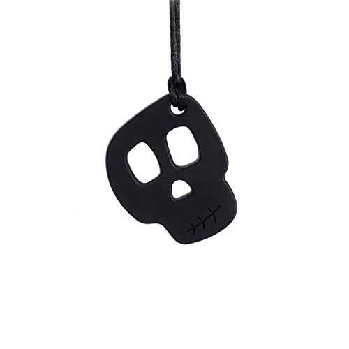 Silicone Teether Necklace, Autistic Baby Sensory Chewing Toy, Teething Pendant Necklace