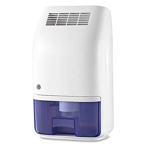 Deumidificatore di GBlife, Tecnologia Avanzata dei Semiconduttori, Funzionamento Silenzioso, Spegnimento Automatico, per Rimuovere l'umidità Eccessiva da Casa/Ufficio/SPA (700ML)