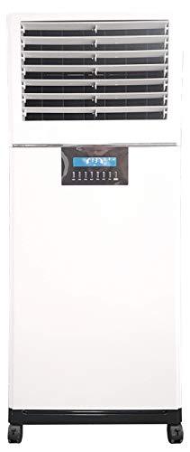 M Confort E3500Xl Climatizador Evaporativo Portátil, 100 Watts, 50 m², 3 Velocidades, Máximo Caudal 3500M³/H, Ventilador Centrífugo, 168 x 60 x 43 cm