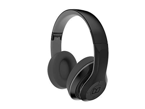top 10 wireless headphones monster Monster NTune 450 On-Ear Bluetooth Headphones 2019 Latest Model (Black)