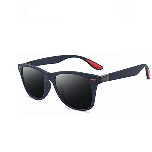 YOULIER Cuadrado señoras polarizante sol Glasse UV400 hombres gafas clásico retro marca diseño pesca gafas de sol