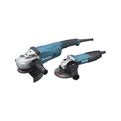 Makita DK0097X1 - Juego de 2 máquinas (GA9020 + GA5030R)
