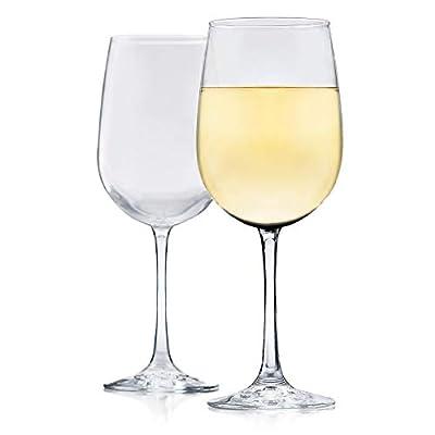 Libbey Vina White Wine Glasses, Set of 6