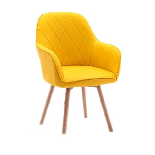 Silla de oficina Silla de escritorio ergonómica Silla de computadora, silla de amortiguador de látex de la casa, silla de estudio de la oficina de escritura del dormitorio silla de maquillaje cómodo y