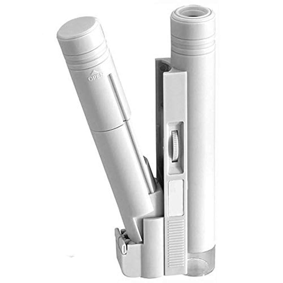 剣アレルギーパキスタン人RETYLY 150倍ポケット顕微鏡 調整可能な読み取り光源拡大鏡スケール付きLedライトランプ付きルーペガラス拡大鏡