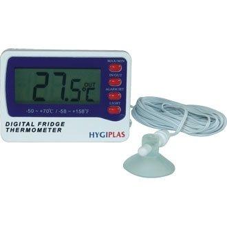 Thermomètre Digital pour réfrigérateur/congélateur-écran large et double sonde (non incluse)
