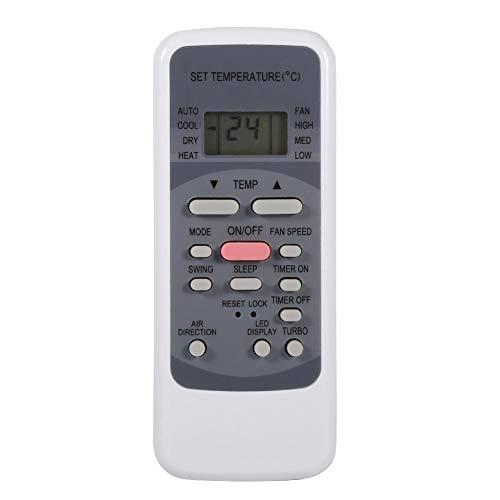 Fernbedienung für Klimaanlagen,Universal Air Controller mit Bequem Bildschirm Klimagerät Fernbedienung Einfach Bedienen,Geeignet für Midea R51/E R51/E R51/CE usw.