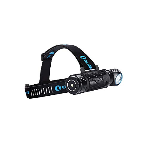 Olight PERUN 2 LED Linterna Frontal Multifuncional Lámpara de Cabeza USB Recargable de 2500 Lúmenes,166M MAX.IPX 8 Impermeable,Ideal para Trabajo y Actividades Exteriores como Pescar Correr y Camping