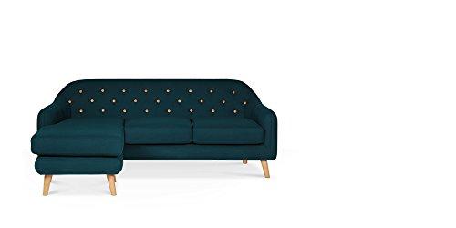 Swoon Editions-Hudson Canapé d'angle Marine, canapé, mi-century style Marine