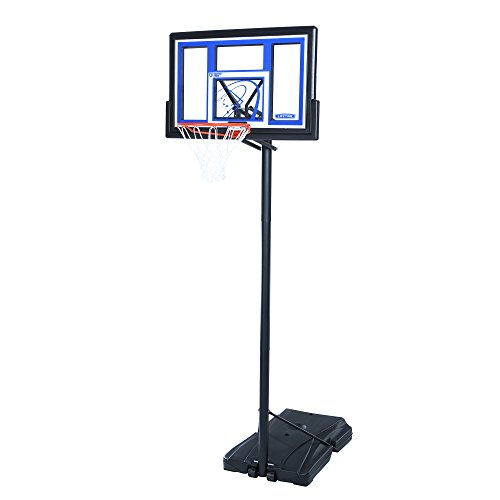 Lifetime 1531 Portable Basketball System, 48 Inch Shatterproof...