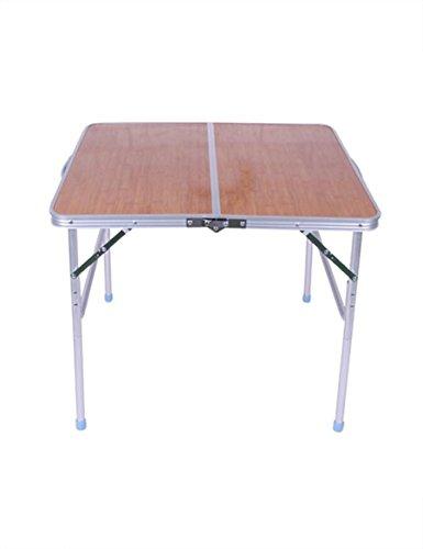 Aluminium Opvouwbare Klassieke Verdikking Eenvoudige Huishoudelijke Eettafel Picknick Tafel