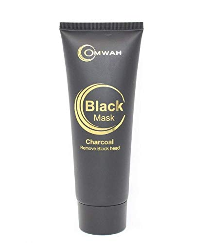 Blackhead Remover Deep Skin Cleansing Charcoal Black Mud Purifying Peel Off Facial Mask. 110 ml per tube