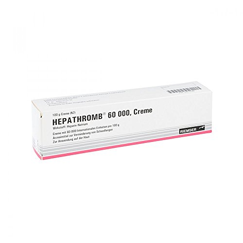 Hepathromb 60 000, 100 g Creme