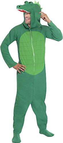 Adulti Fancy Party Animal Stile Coccodrillo Costume da Uomo Completo Outfit