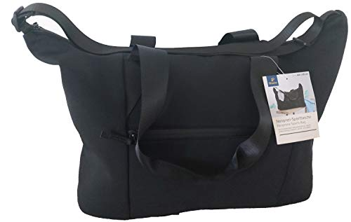 TCM Tchibo Sporttasche Neopren Sport Tasche schwarz