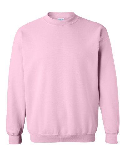 Gildan 7.75 oz Sweatshirt (18000) Small Light Pink