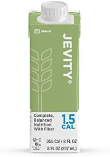 Jevity 1.5 Cal High Protein Nutrition Drink with Fiber 8 Ounce Cartons 24/Case by Abbott