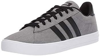 adidas Men s Daily 2.0 Sneaker Grey/Black/White 9 M US