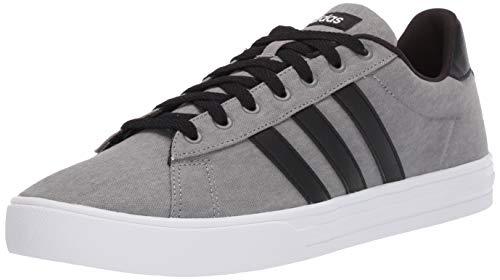 adidas mens Daily 2.0 Sneaker, Grey/Black/White, 7.5 US