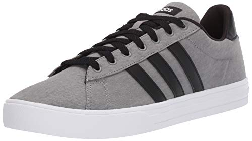 adidas Men's Daily 2.0 Sneaker, Grey/Black/White, 10.5 M US