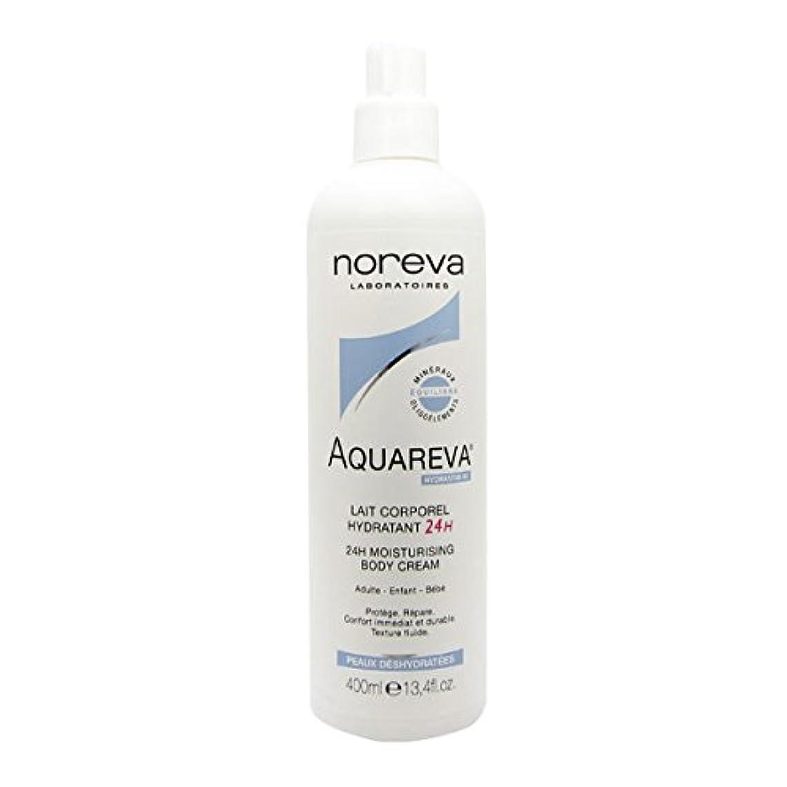 むしゃむしゃ世界の窓知っているに立ち寄るNoreva Aquareva Hydrating Body Milk 400ml [並行輸入品]