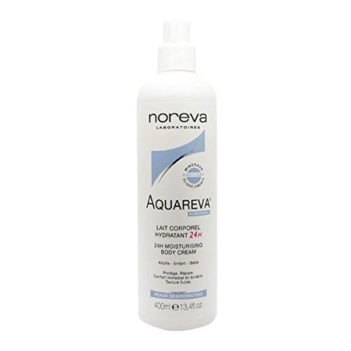 自宅で達成図書館Noreva Aquareva Hydrating Body Milk 400ml [並行輸入品]