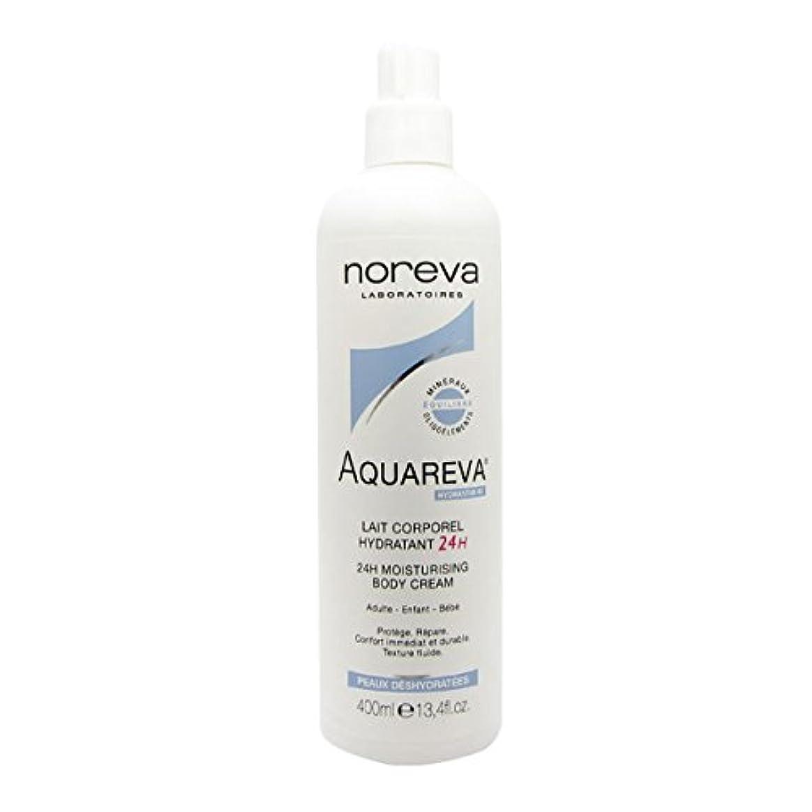ラバ経度炭水化物Noreva Aquareva Hydrating Body Milk 400ml [並行輸入品]
