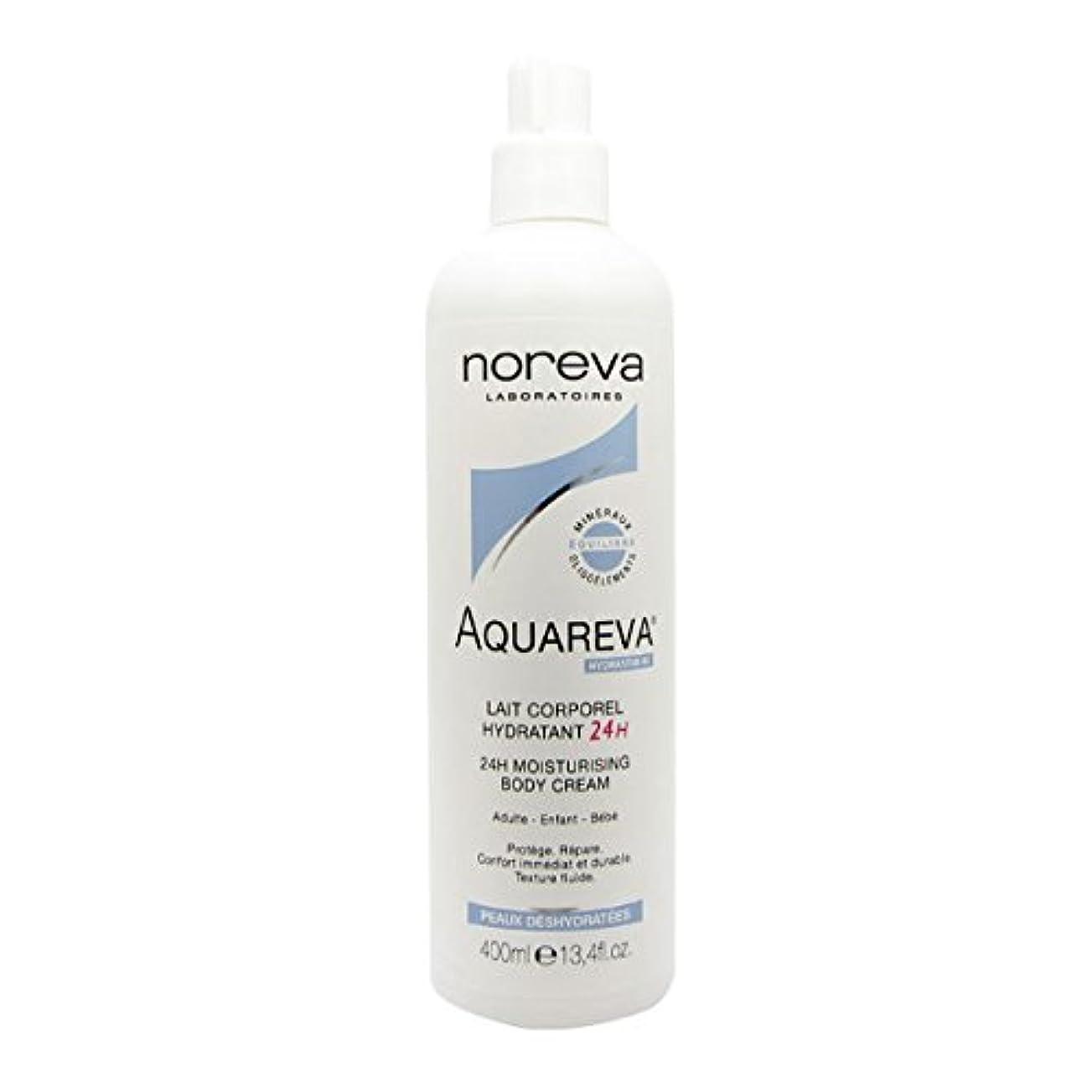 教育する腸インシュレータNoreva Aquareva Hydrating Body Milk 400ml [並行輸入品]