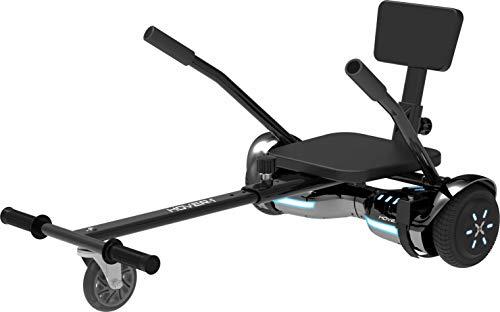 Hover1 Hoverboard Superstar Kombo mit Buggy Aufsatz - Elektronisches Balanceboard mit Go Kart/Hoverkart-Funktion