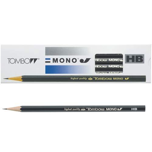 トンボ鉛筆 鉛筆モノJ H MONO-JH 2個セット