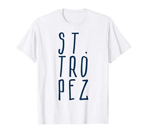St. Tropez Cote d' Azur Frankreich Urlaub cooles Fun T-Shirt T-Shirt