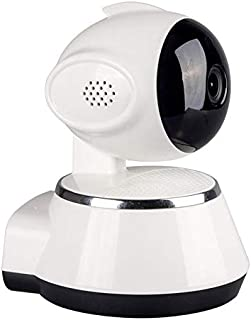 720P Wireless IP Camera Pan/Tilt Indoor Baby Monitor 2.4GHZ WiFi Network P2P APP Support Night Vision 2 Way Audio Home Security Cameras (White)
