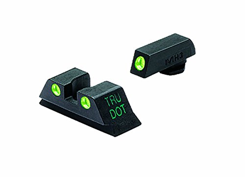 Meprolight Glock Tru-Dot Night Sight for 10 mm & .45 ACP. fixed set