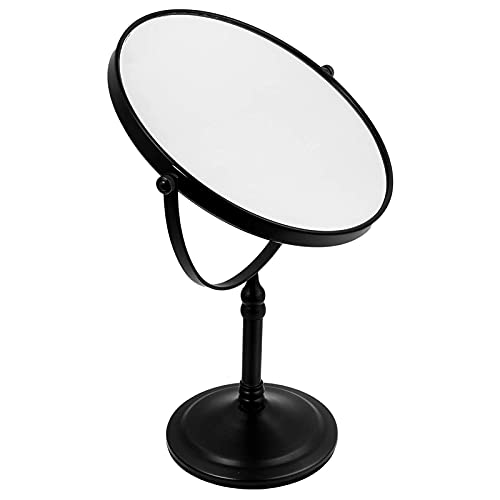 Vanity Mirror Table Mirror 360 Rotation Compact Magnifying Tabletop Makeup Double Side Bathroom