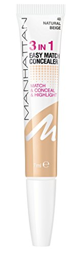 Manhattan 3in1 Easy Match Concealer 040 Natural Beige