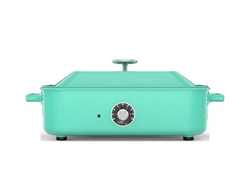 Huaishu multifunctionele elektrische kookplaat, anti-aanbaklaag, grill zonder antiaanbaklaag, 1200 W, 375 x 235 x 140 mm