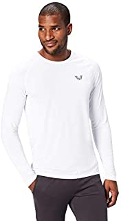 Peak Velocity Men's VXE Long Sleeve Quick-Dry Loose-Fit T-Shirt
