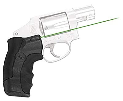 Crimson Trace LG-350 Lasergrips Laser Sightfor Smith & Wesson J-Frame from Crimson Trace