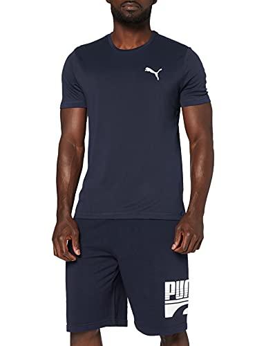 PUMA Herren T Shirt, Peacoat, 3XL