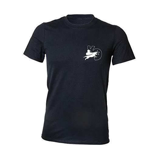 Julius-K9 12TK9-DNP-M Camiseta, M, Negro
