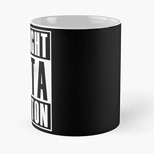 Straight Yella DRE Cube West California Outta Coast Ren Dr Dj Ice Mc Compton Best 11 oz Kaffeebecher - Nespresso Tassen Kaffee Motive
