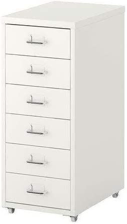 Ikea 2021 model HELMER drawer New York Mall unit White 11x27 8